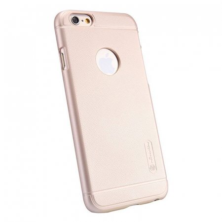 Husa iPhone 6 / iPhone 6s Nillkin Frosted Shield - gold3