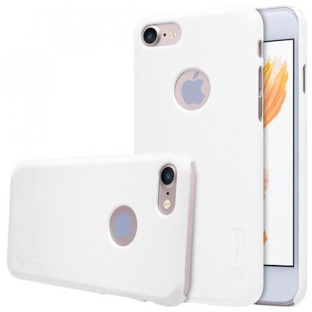 Husa  iPhone 7 - Nillkin Frosted Shield - alb1