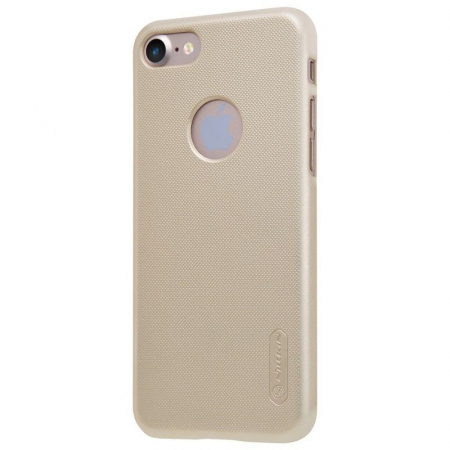 Husa  iPhone 7 - Nillkin Frosted Shield - gold1