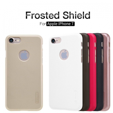 Husa  iPhone 7 - Nillkin Frosted Shield - gold6