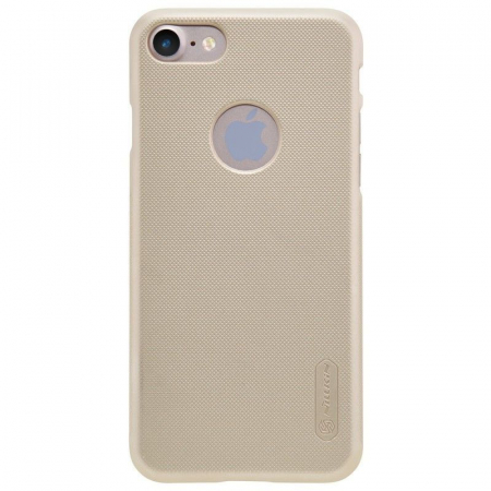 Husa  iPhone 7 - Nillkin Frosted Shield - gold0