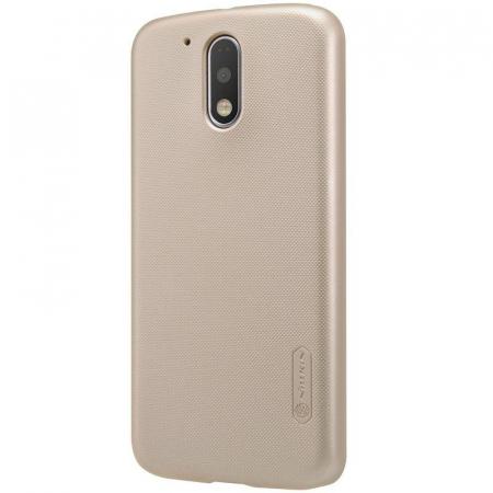 Husa Motorola Moto G4 Nillkin Frosted Shield - gold [0]