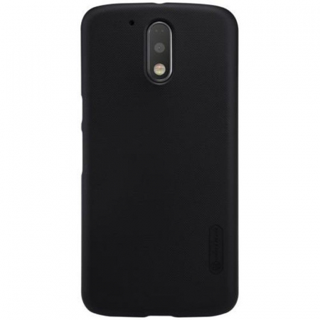 Husa Motorola Moto G4 Nillkin Frosted Shield - negru0
