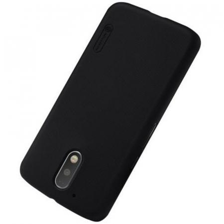 Husa Motorola Moto G4 Nillkin Frosted Shield - negru1