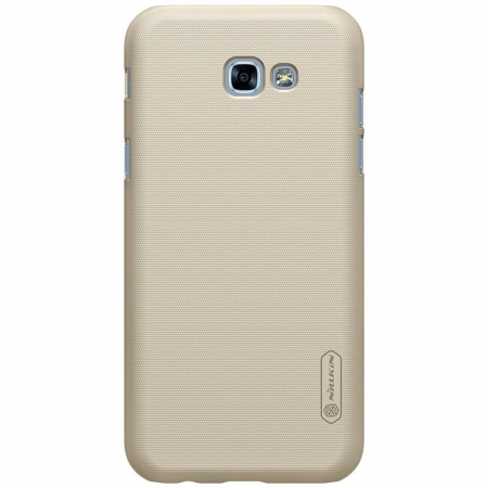 Husa Samsung Galaxy  A5 2017 Nillkin Frosted Shield - gold3