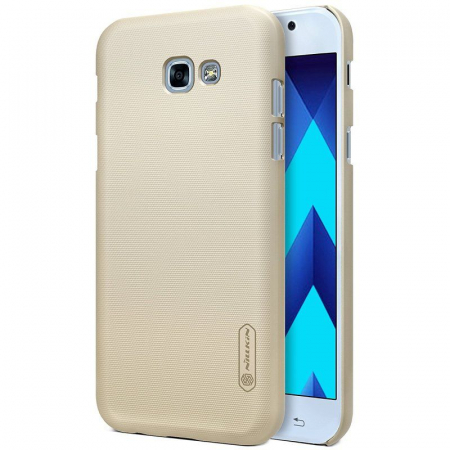 Husa Samsung Galaxy  A5 2017 Nillkin Frosted Shield - gold0