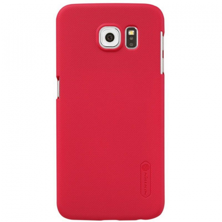 Husa Nillkin Frosted Shield Samsung Galaxy S6 - rosu0