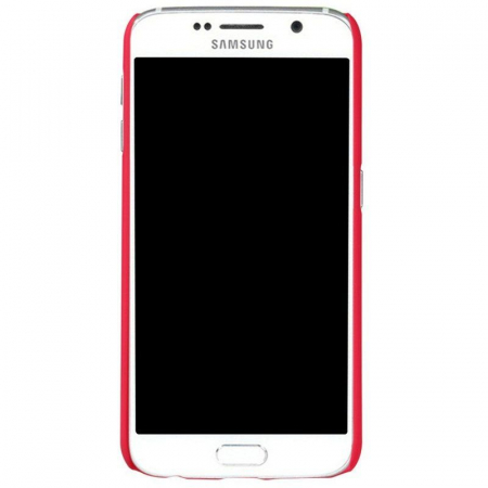 Husa Nillkin Frosted Shield Samsung Galaxy S6 - rosu2
