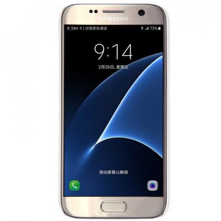 Husa Nillkin Frosted Shield Samsung Galaxy S7 - alb1