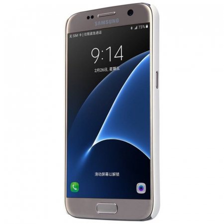 Husa Nillkin Frosted Shield Samsung Galaxy S7 - alb3