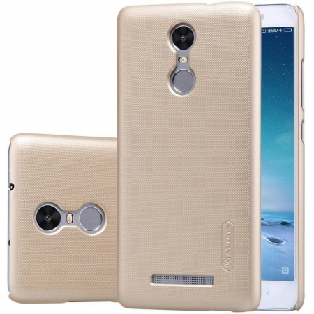 Husa Nillkin Frosted Xiaomi Redmi Note 3 - gold2