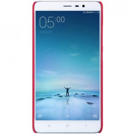 Husa Nillkin Frosted Xiaomi Redmi Note 3 - rosu2