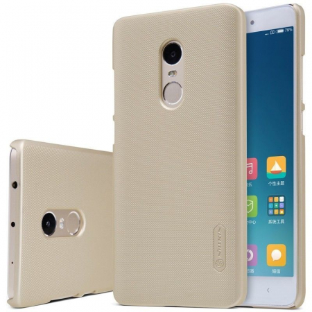 Husa Nillkin Frosted Xiaomi Redmi Note 4 - gold3