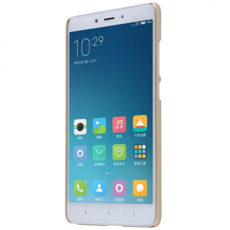 Husa Nillkin Frosted Xiaomi Redmi Note 4 - gold1