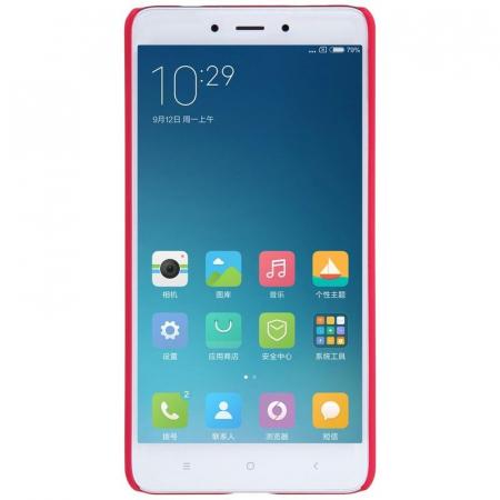 Husa Nillkin Frosted Xiaomi Redmi Note 4 - rosu [1]