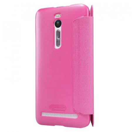 Husa Asus Zenfone 2 5.5inch Nillkin Sparkle - roz3