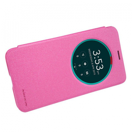 Husa Asus Zenfone 2 5.5inch Nillkin Sparkle - roz1
