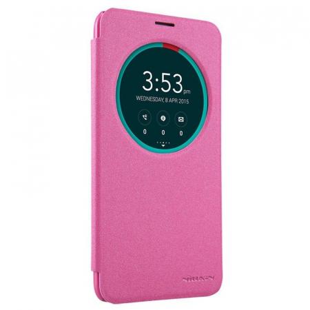 Husa Asus Zenfone 2 5.5inch Nillkin Sparkle - roz2