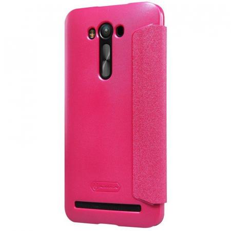 Husa Asus Zenfone 2 Laser 5.5inch Nillkin Sparkle - roz3