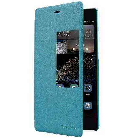 Husa Nillkin Sparkle Huawei Ascend P8 - albastru1