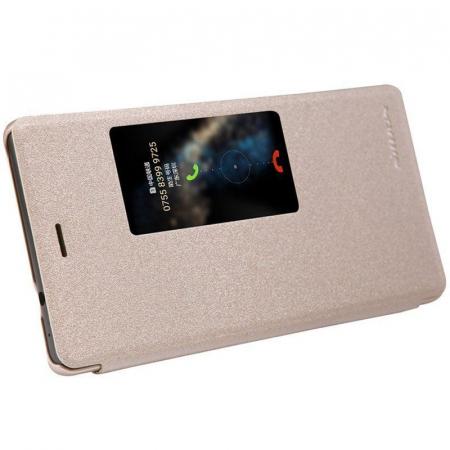 Husa Nillkin Sparkle Huawei Ascend P8 - gold4