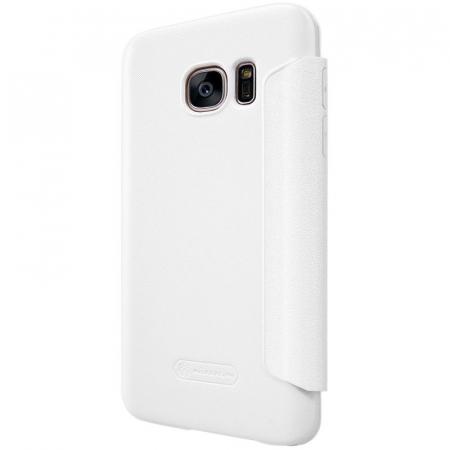 Husa Nillkin Sparkle Samsung Galaxy S7 - alb5