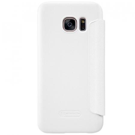 Husa Nillkin Sparkle Samsung Galaxy S7 - alb [4]