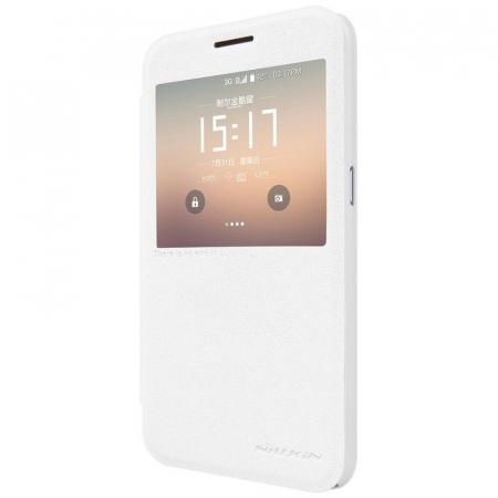 Husa Nillkin Sparkle Samsung Galaxy S7 - alb3