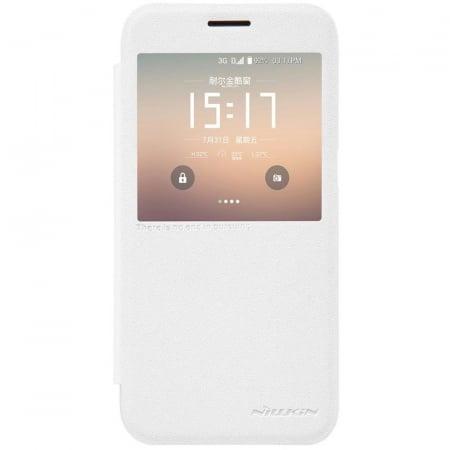 Husa Nillkin Sparkle Samsung Galaxy S7 - alb0