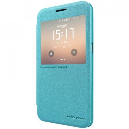 Husa Nillkin Sparkle Samsung Galaxy S7 - albastru2