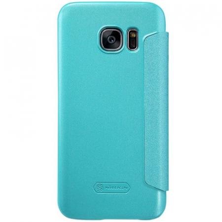 Husa Nillkin Sparkle Samsung Galaxy S7 - albastru3