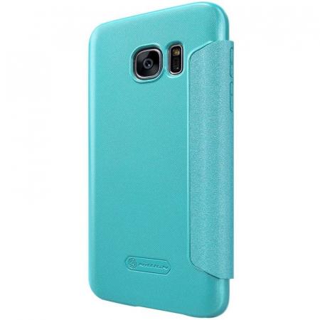 Husa Nillkin Sparkle Samsung Galaxy S7 - albastru1