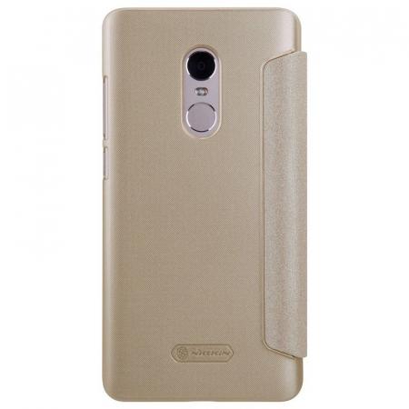 Husa Nillkin Sparkle Xiaomi Redmi Note 4 - gold1