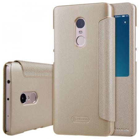 Husa Nillkin Sparkle Xiaomi Redmi Note 4 - gold6