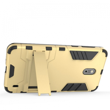 Husa Nokia 2 Hybrid Stand - gold2