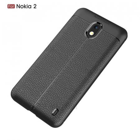 Husa Nokia 2 Tpu Grain - negru1