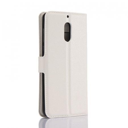 Husa Nokia 6 Crazy Horse Flip Book - alb1