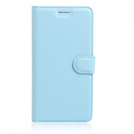 Husa Nokia 6 Crazy Horse Flip Book - albastru0