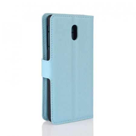 Husa   Nokia 3 Crazy Horse flip din piele eco - alb3