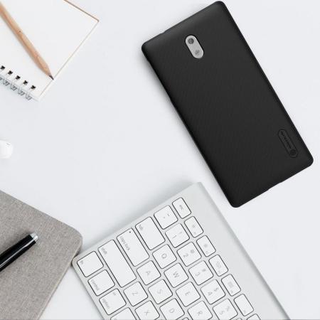 Husa Nokia 3 Nillkin Frosted Shield - negru1