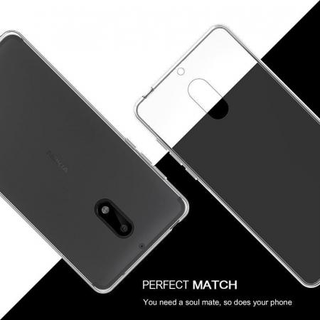 Husa Nokia 6 Silicon TPU extra slim 0.5mm - transparent2