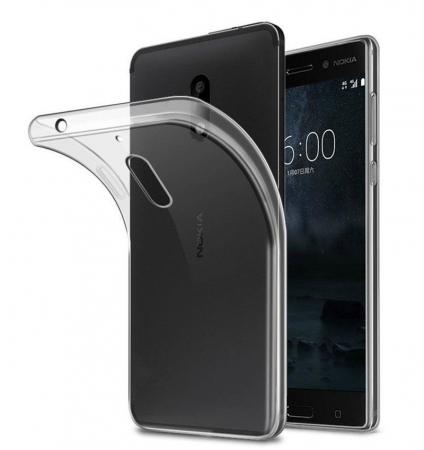 Husa Nokia 6 Silicon TPU extra slim 0.5mm - transparent0