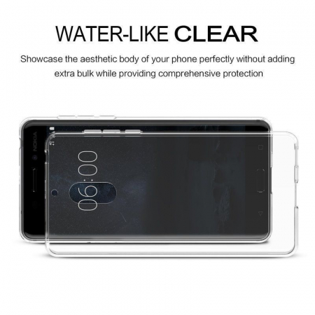 Husa Nokia 6 Silicon TPU extra slim 0.5mm - transparent3