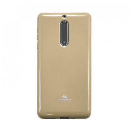Husa Nokia 5 Goospery Mercury Jelly Case Silicon - gold0
