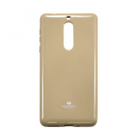 Husa Nokia 5 Goospery Mercury Jelly Case Silicon - gold1