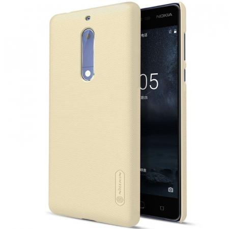 Husa   Nokia 5 Nillkin Frosted Shield - gold0