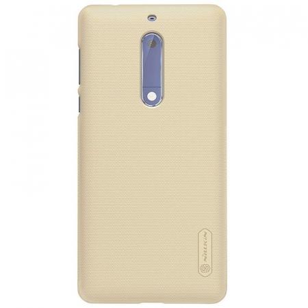 Husa   Nokia 5 Nillkin Frosted Shield - gold3