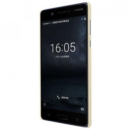 Husa   Nokia 5 Nillkin Frosted Shield - gold1