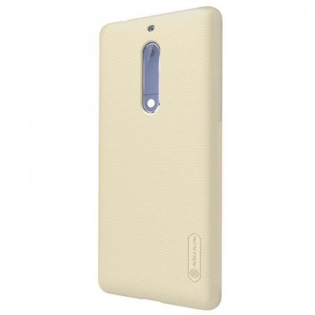 Husa   Nokia 5 Nillkin Frosted Shield - gold5