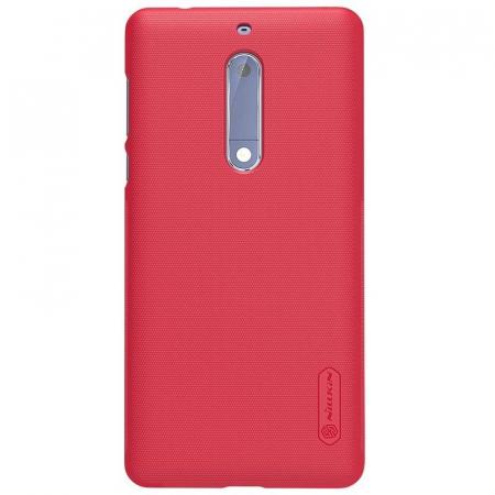 Husa   Nokia 5 Nillkin Frosted Shield - rosu5